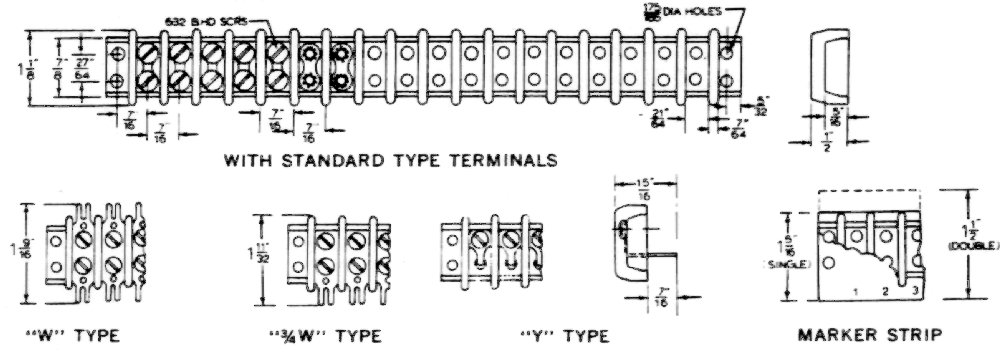 terminal blocks renfrew electric terminal blocks rh renfrewelectric com Wire Terminal Blocks Screw Terminal Block